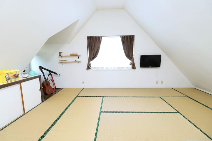 Comfortable Tatami and Japanese Futon.