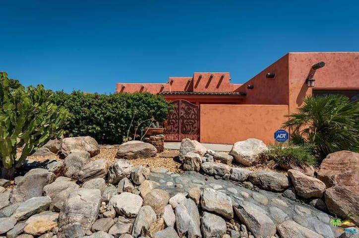 Cactus Garden near Cabazon , Morongo ,Palm Springs