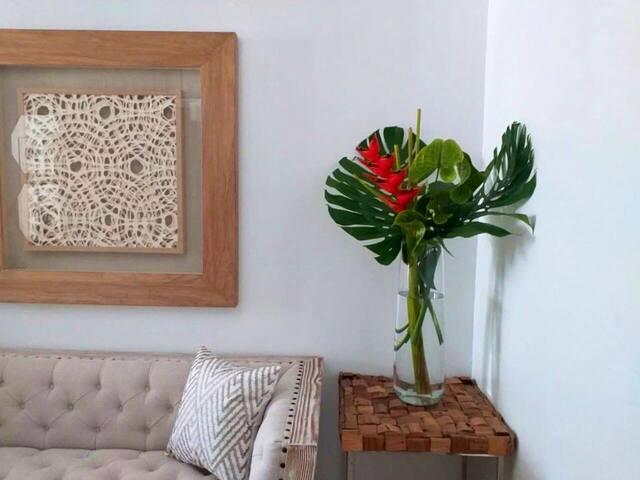 Confortable apartamento-studio, cerca de BV Mall