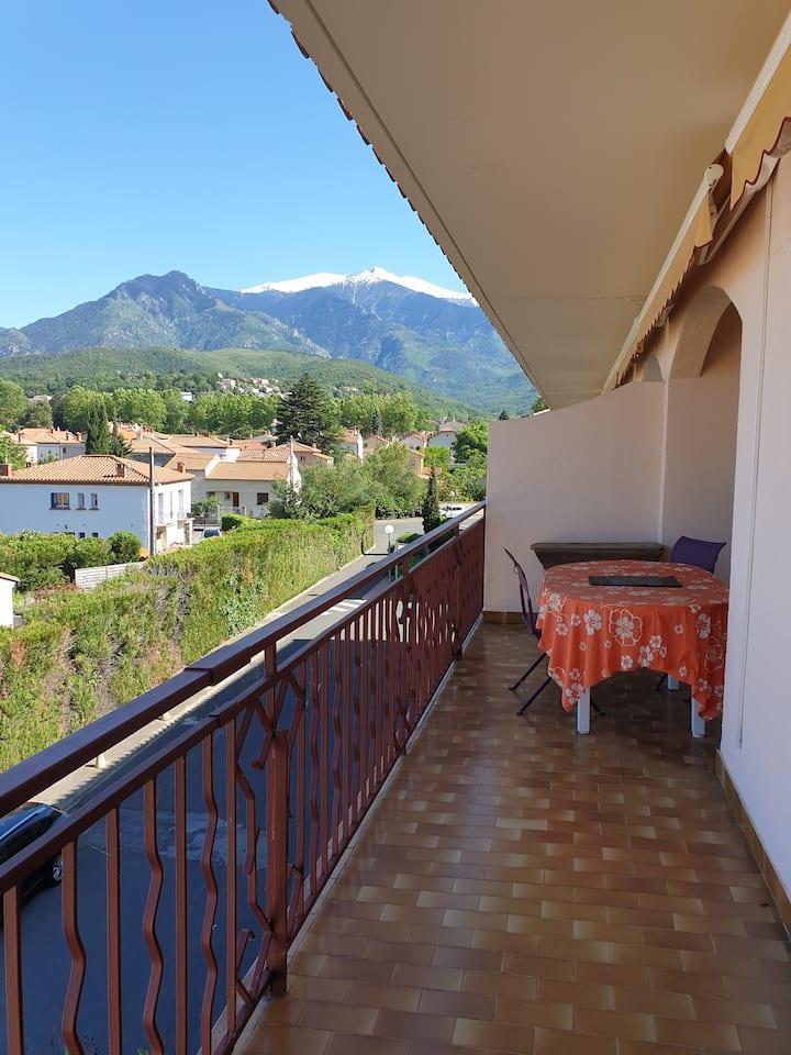 Appartement, clair et ensoleillé, avec terrasse,