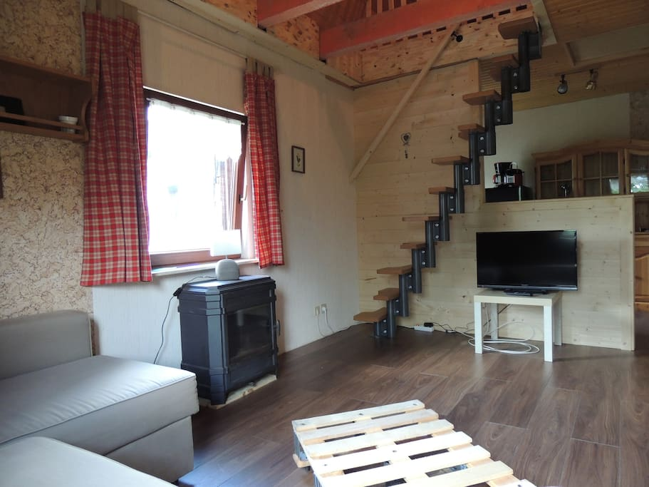 Le refuge g te atypique en duplex appartements louer for Duplex appartement atypique