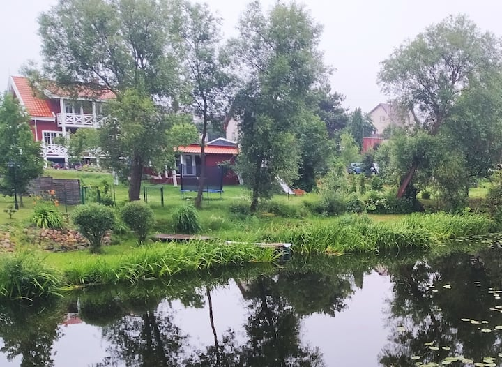 River studio near Palanga