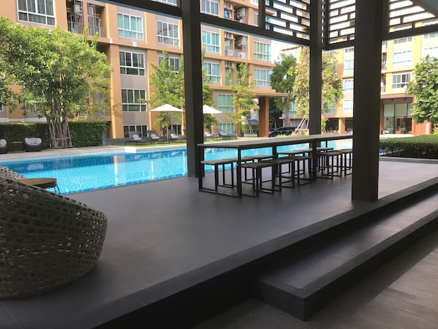 Modern type of Studio near Lamthong shopping mall.