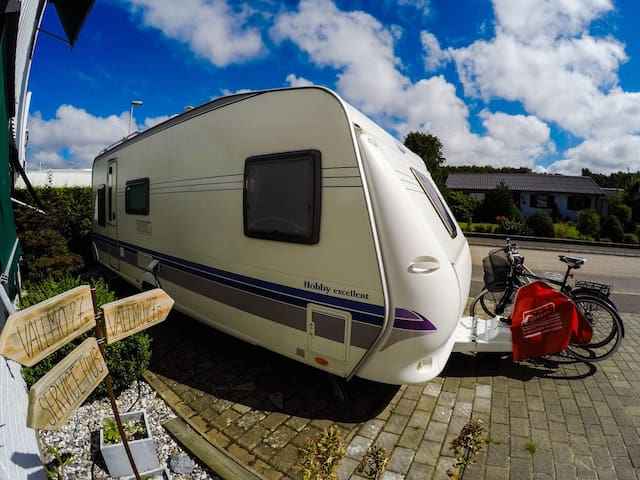 Caravan in the city - Varberg