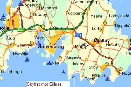 Fint enkelt hus nära hav & strand - Sölvesborg  - Dům