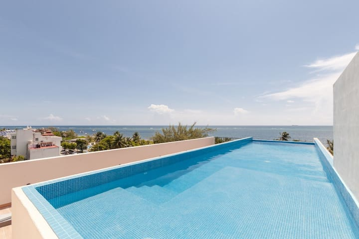 Villa Paraíso.....Un espacio mágico frente al Mar