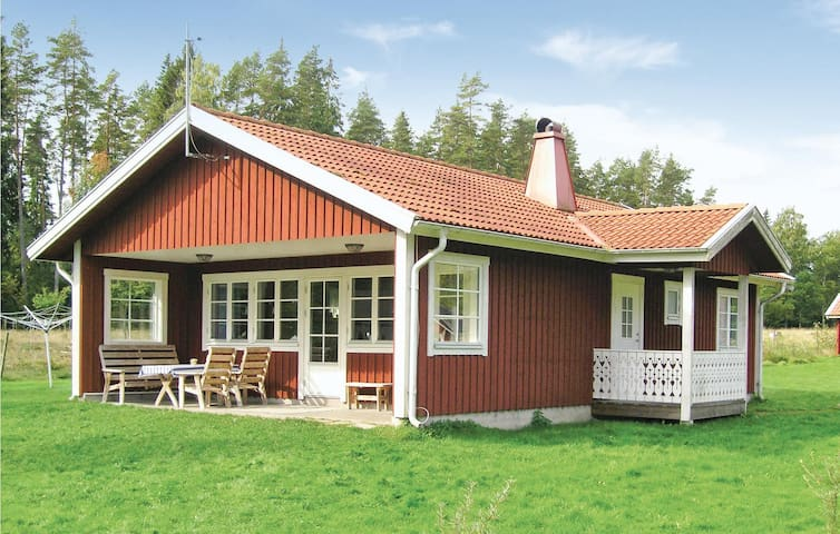 Holiday cottage with 3 bedrooms on 75m² in Vittaryd