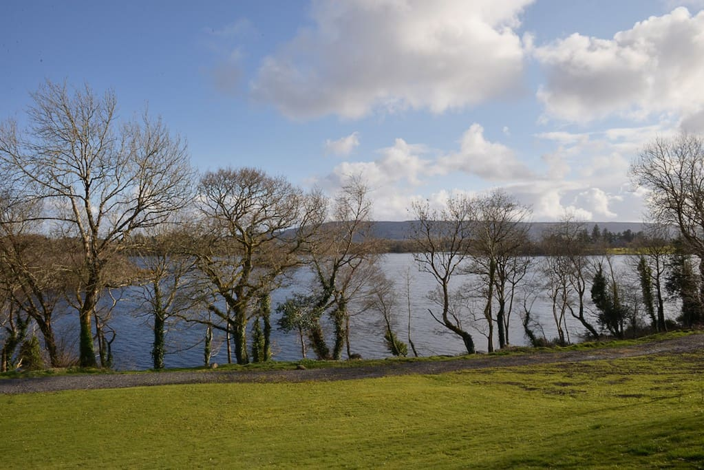 The wonderful peaceful and ever changing view of Lower Lough Erne - Sandy Bay.