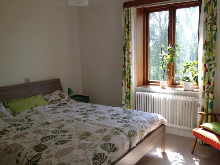 Central Lund, Lovely Rooms in House with Garden