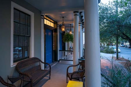 Mansion View: Elegant and Relaxing large 1BR - Savannah - Appartement