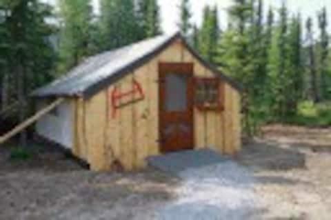Log Cabin Glamping Option