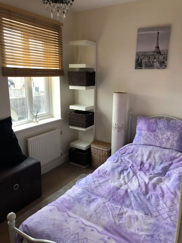 Bright cozy room with all amenities.