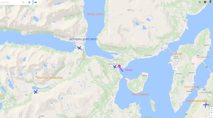 Fjordvegen 8 - Tromsø - Leilighet
