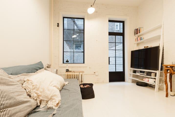 quaint & perfect west village - Nova Iorque - Apartamento