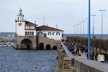 Getxo, right next to the beach. Only a  15/20 minutes walk from Portugalete.
