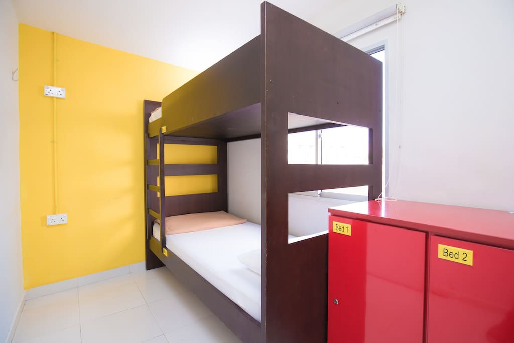 2 bed dorms