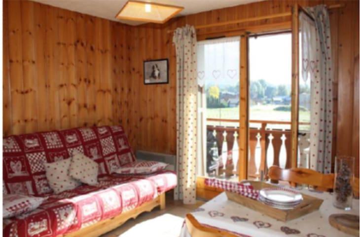 Appartement - 2 pièces - 24,51 m² - - Morillon - Huoneisto