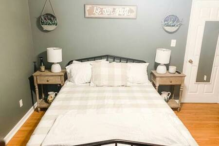Comfortable private bedroom