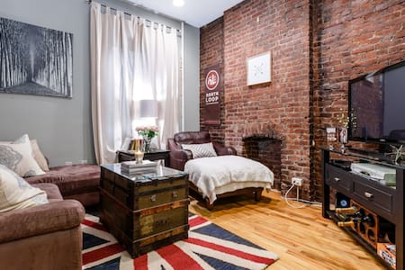 Charming brownstone dwtn Hoboken!