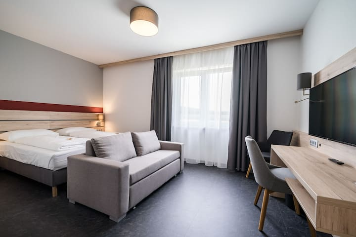 Deluxe Doppelzimmer 26m² - Breakfast included