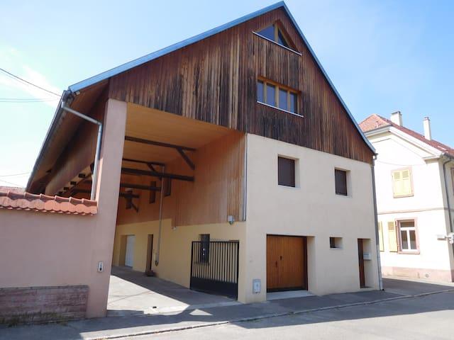 Ancienne ferme Alsacienne à 5mn de Colmar centre