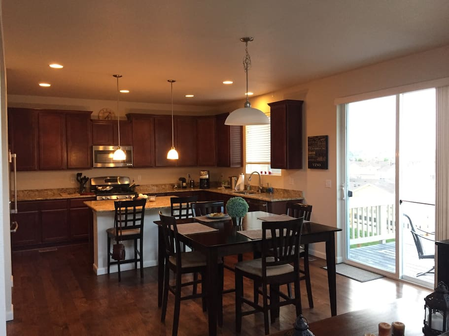 Kitchen, with full amenities