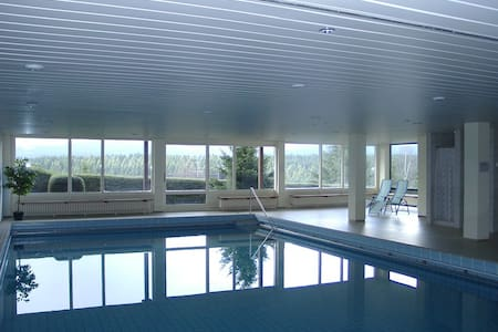 60qm Apartment, Balkon, Feldbergblick, Wellness - Lenzkirch - Apartemen