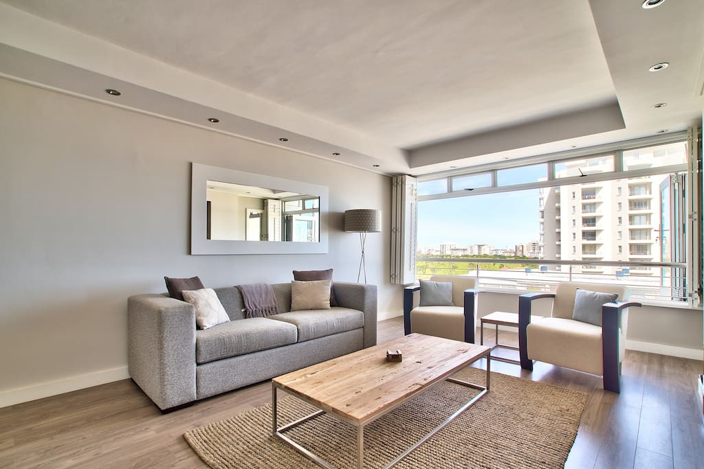 A space perfect for relaxing on the couch, watching tv, or just welcoming in the cool Atlantic sea breeze.