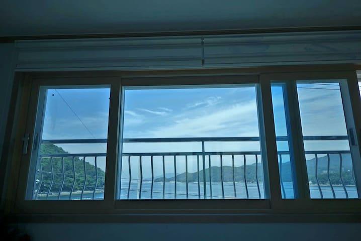 바다 전망의 경치가 아름다운 집 - 통영시 - Rumah