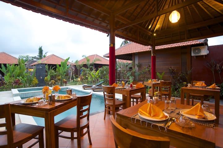 Deluxe Room Saka Vilage Resort Ubud