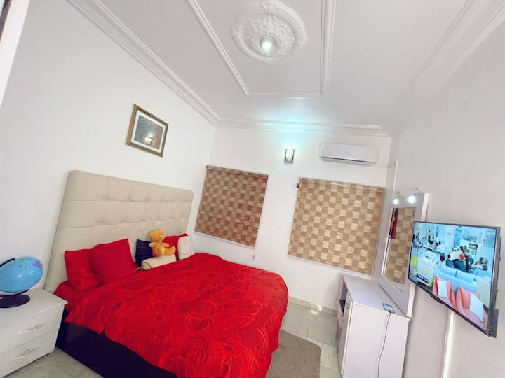 Private room &parlor Abuja Wuse stylishlyluxurious