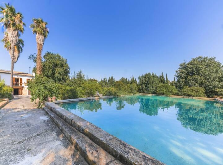 Villa Can Mir, piscina, wifi, barbacoa, aire acondicionado, en plena naturaleza muy cerca de Palma