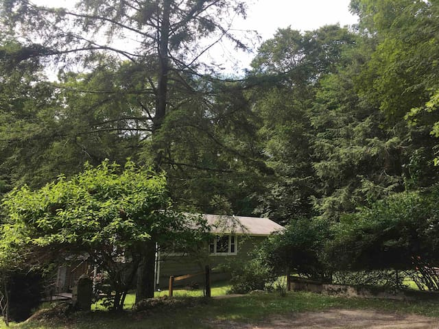 Peaceful cabin near Lakes, Casino & Bethel Woods!