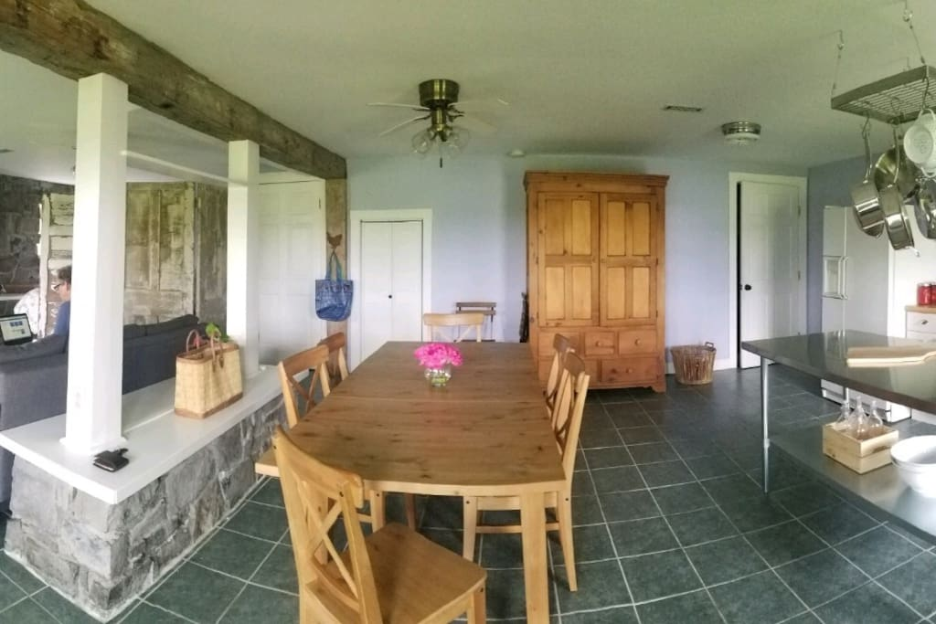 Full sized dining table (downstairs)