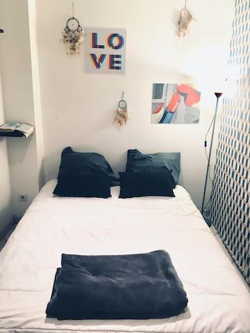 Chambre privée avec le clé/ room private
