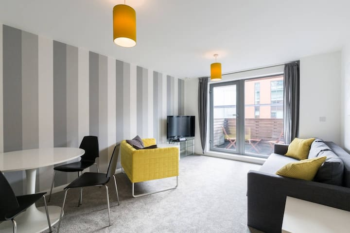 Entire clean city centre apartment - Birmingham - Apartemen