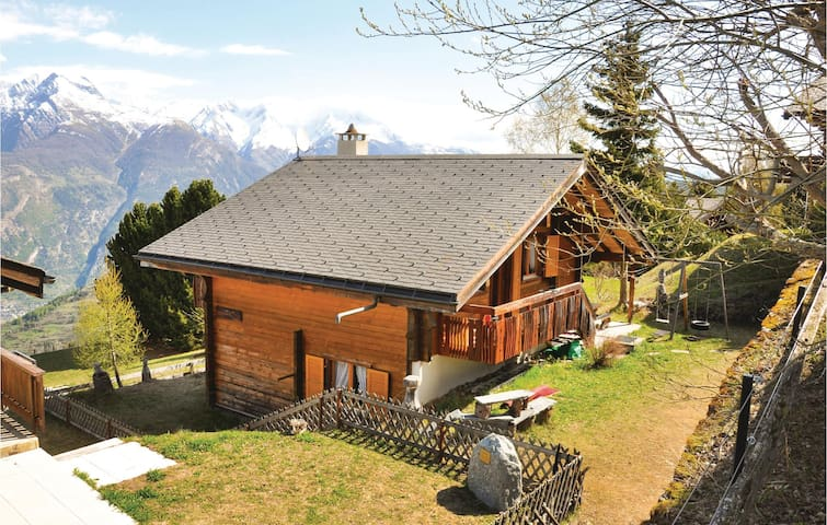 Holiday cottage with 3 bedrooms on 100 m² in Brandalp-Unterbäch