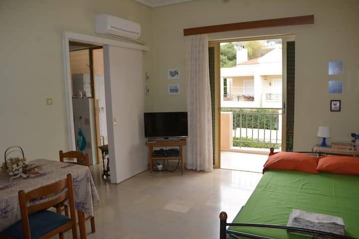 Appartment 48 sq.m 100m walk from beach
