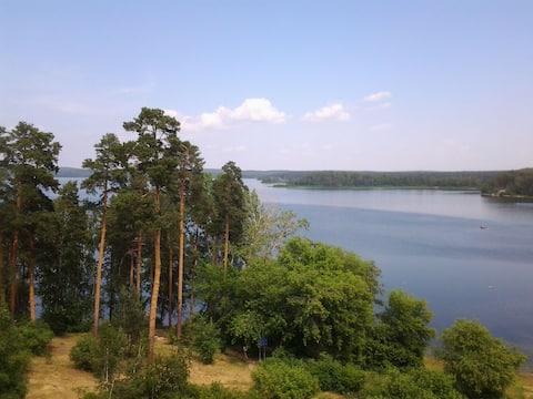 Квартира над озером Кисегач