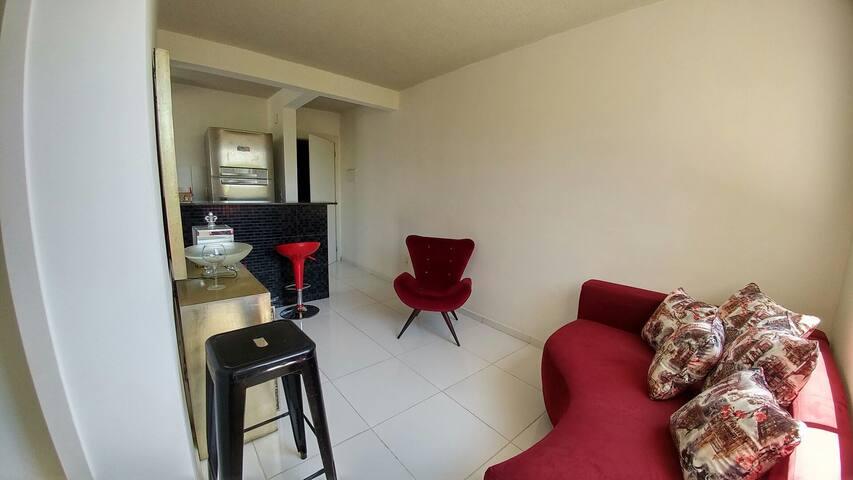Apartamento confortável em ótima localização