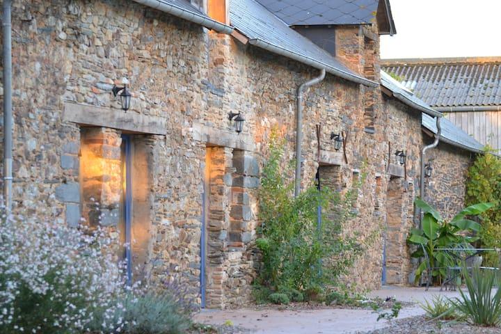 Le chêne blanc chambre - Plessé - Gæstehus