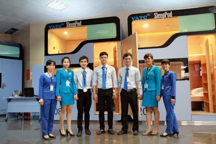 VATC SleepPod- NoiBai Airport Guesthouse- T2