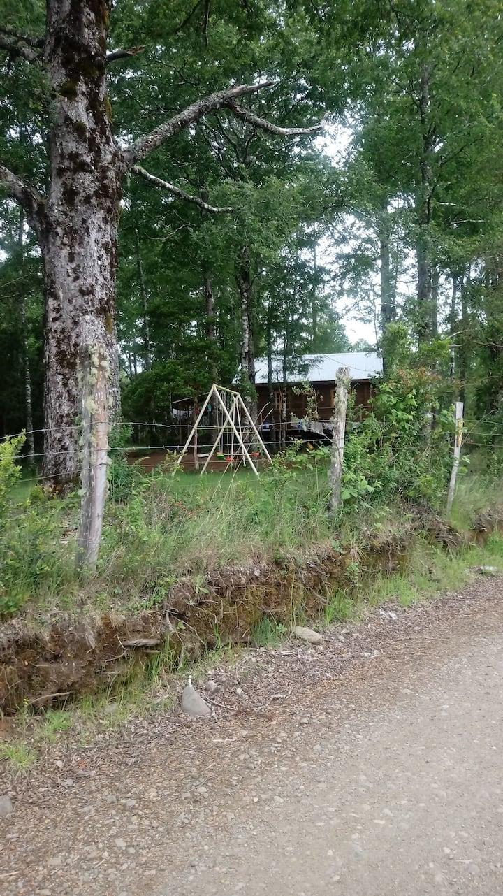 Casa licanray ubicada en parcela