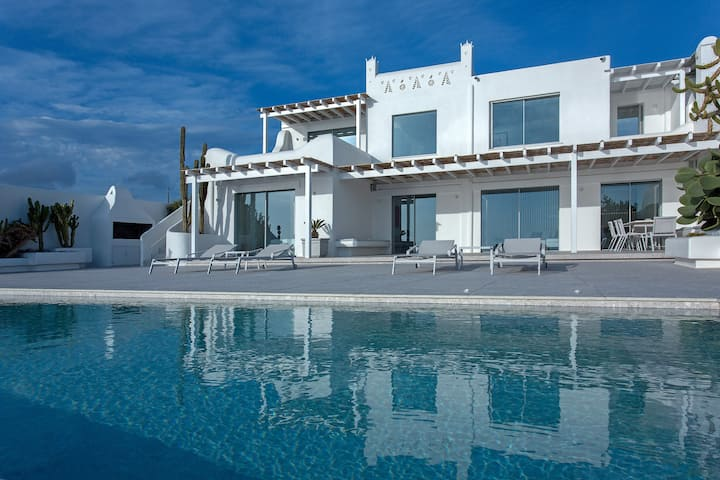 Villa MED Mykonos 5bd Sea View - Private Pool