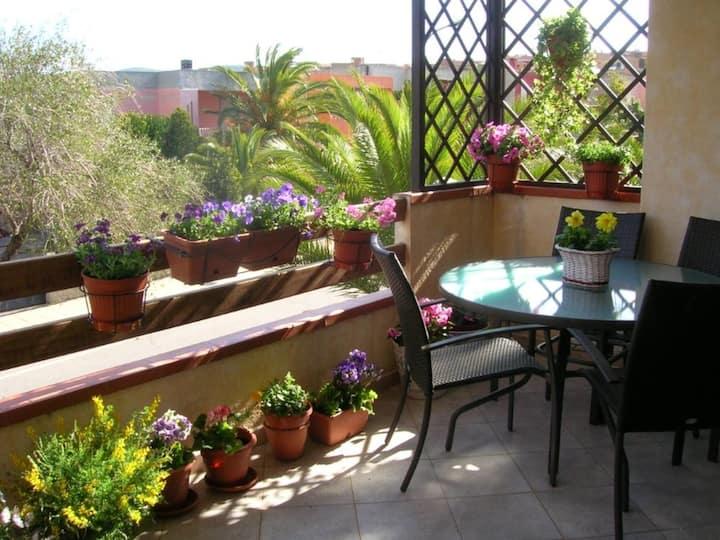 Grazioso appartamento con ampia veranda