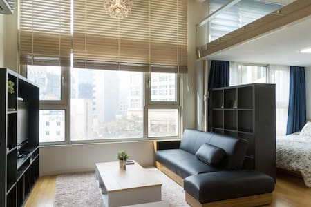 loft type Apartment 16min to Gangnam sation - Bundang-gu, Seongnam-si - Wohnung
