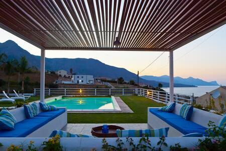 B&B Casa Azul, sea view room - กัซเตลลัมมาเร เดล กอลโฟ - ที่พักพร้อมอาหารเช้า