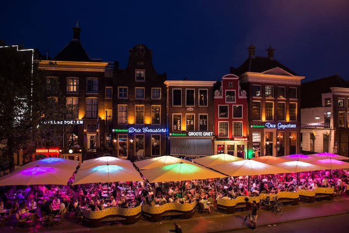 You can go out in Groningen, have fun and  drink nice dutch beer and come back by train to rest for the night . There are so many things to do in Groningen.