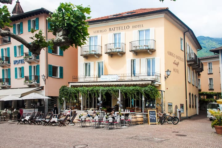 Charming apartment with a beautiful terrace - Ascona - Wohnung