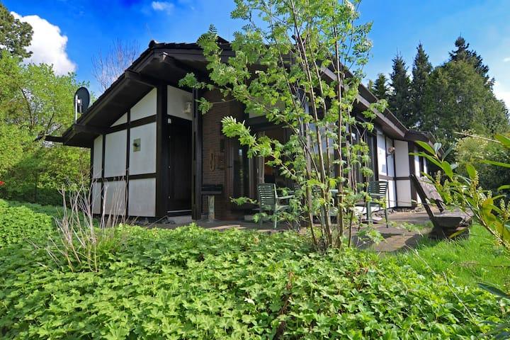 Rustig gelegen huis in het Hennetal met open haard, terras en tuin